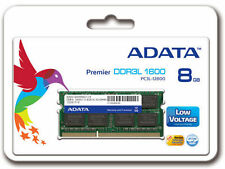 8GB  DDR3L 1600Mhz Laptop RAM BRAND ADATA  (ADDS1600W8G11-B), LIFETIME Warranty