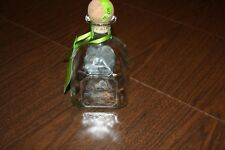 Empty Patron Silver Bottle with Cork for Crafts or Bank