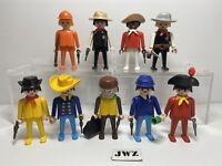 Vintage 1974 Playmobil (Geobra) Figures Bundle x9