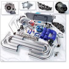 T04E T3 T3/T4 Turbo Kit Cast Turbo Manifold Golf Jetta Beetle A4 TT 1.8T DOHC