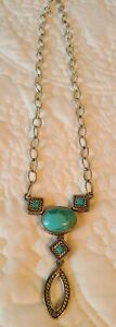 BARSE Turquoise Sterling Silver Necklace