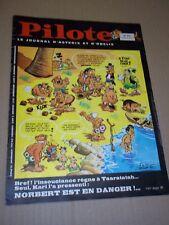 """PILOTE no 473"" (1968) ASTERIX / PILOTORAMA - LE CHATEAU DE COUCY / GOTLIB"
