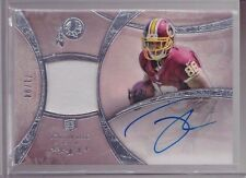 2013 Topps 5 Star Jordan Reed On Card Auto Jersey Patch Rc Serial # To 94