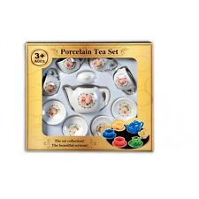 33156   Niedliches Puppengeschirr Tee Bären Service aus Porzellan Kinder NEU OVP