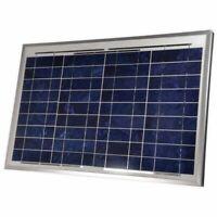 Coleman 30 Watt Portable Crystalline Solar Panel 12V Battery Charger DC 38003