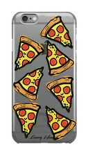 LuxuryHunters iPhone 7 / 8  pizza food drawing iPhone case plastic cover