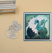 Dragon and egg Metal Cutting Dies Stencils Scrapbook Paper Card Decorative Die