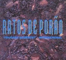 RATOS DE PORAO - feijoada acidente? Digipak CD (Metal Mind, 2008) *Brasil Thrash