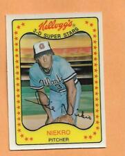 PHIL NIEKRO 1981 KELLOGGS 3-D SUPERSTARS CARD # 12