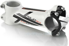 "XLC Pro SL 1 1/8"" Lightweight Road Bike Aluminium A-Head Stem 31.8mm White 100mm"