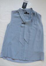NWT Women's WEEKEND MaxMara PICCHIO Blouse Blue Sz S $195