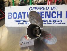 Mercury 14.5x23 pitch stainless propeller