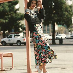 Anthropologie • Florence Bias Midi Skirt Size Medium NWT