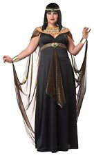 b0a57a1948fd Californa Costume Queen Of The Nile Fancy Dress Costume Egyptian Outfit XL
