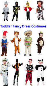 CHILDREN TODDLER FANCY DRESS BOOK WEEK COSTUME 2-4 YEARS PIRATE ANIMAL COWBOY