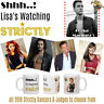 Strictly personalised 10oz ceramic mug choice of 2019 dancers & judges photos