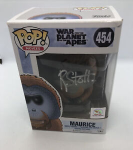 Planet Of The Apes 454 Funko Pop Hand Signed By Rachel Stott With COA
