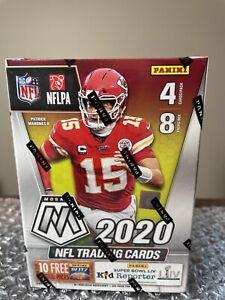 Panini NFL 2020 Mosaic Football Trading Card, Blaster Box - 32 Cards-Sealed-