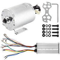 Brushless Electric Motor Controller 72V 3000W BLDC Powerful stable sprocket