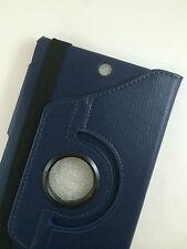 "Funda cristal Sony Xperia tablet Z3 Compact mini 8"" giratoria 360º azul oscuro"