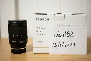 Tamron 17-28mm F/2.8 Di III RXD Lens Sony E Mount