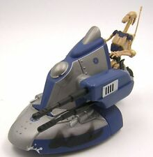 Star Wars Loose Clone Wars CW Armored Scout Tank with Battle Droid