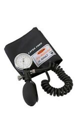 DUPLEX ANEROID SPHYGMOMANOMETER BY ACCOSON MODEL :0322 WITH ADULT VELCRO CUFF