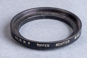 Tiffen 46.5 M 7 46.5mm to Series VII (7) Step-Up Adapter