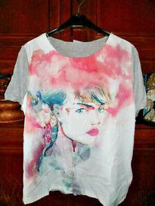 """Damen - Shirt """" Tiefer Blick """" (UVP:16,99€)  Gr.46/48"""