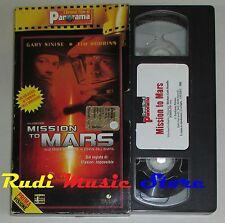 film VHS  MISSION TO MARS Tim Robbins   CARTONATA PANORAMA (FP1*)  no dvd