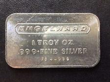 1972 Engelhard Industries Commercial Silver Art Bar EI-1A A4309
