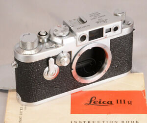 Fully Serviced Leica IIIg Rangefinder  Year 1957 Works Smooth from JAPAN #019183