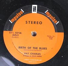 R&B Compact 33 45 Ray Charles - Birth Of The Blues / Mister C On Impulse!