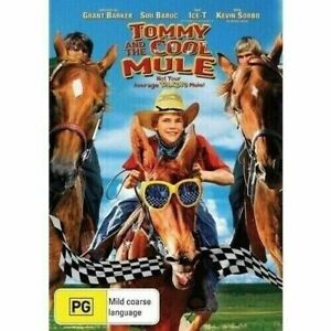 TOMMY AND THE COOL MULE - NEW & SEALED DVD (KEVIN SORBO)