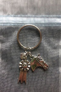Pony & Horse Lover Keyring Equestrian Rider Great Gift or Prize Key Chain