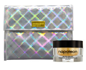 Napoleon Perdis Radiance Boosting Mask & Travel Bag New