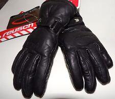 Reush Isalie Ladies Leather Gloves Winter Ski Black size 6