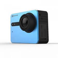 EZVIZ S5 Ultra HD 4K Action Camera Camcorder 16MP Photo Time Lapse - Blue