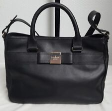 KATE SPADE NEW YORK PRIMROSE HILL GOLDIE LEATHER SATCHEL HANDBAG BLACK NEW! $348