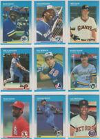 1987 Fleer Baseball Team Sets **Pick Your Team**