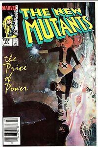 NEW MUTANTS #25 - 1st LEGION!   FX Series!  Sienkiewicz Cover & Art!  VF+  1985