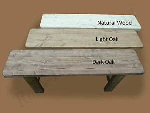 HANDMADE - Wooden Bench, Vintage/Rustic Style. MANY SIZES & COLOURS!