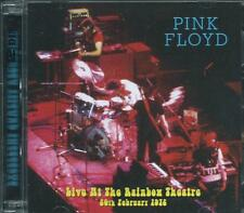 PINK FLOYD - LIVE AT THE RAINBOW THEATRE 1972 EARLY DARK SIDE + BONUS LIVE 2-CD