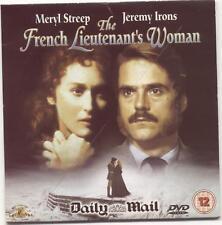 THE FRENCH LIEUTENANT'S WOMAN (1981) UK PROMO DVD / MERYL STREEP, JEREMY IRONS
