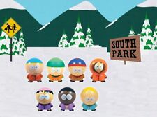 Complete set of 7 Buildables South Park vending figures open build and play