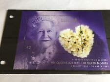 GUERNSEY MINISHEET MNH 2002 SG MS971 QUEEN MOTHER COMMEMORATION ROYALTY