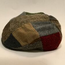 Orvis Drivers Cap Newsboy Hat Size Large Pure Wool Made In Ireland
