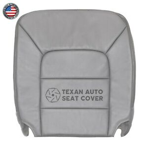 2002 Ford Expedition XLT Sport Driver BottoLeather Seat Cover GRAY
