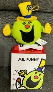Mr Funny Mcdonalds Mr Men 2021 Soft Toy Bag Tag Xmas Tree Decoration UK New Box