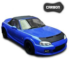 Bonnet Bra Mazda MX 5 CARBON Stoneguard Protector Front Car Mask Cover Tuning